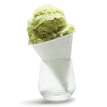 Mint-Honeydew Ice Recipe