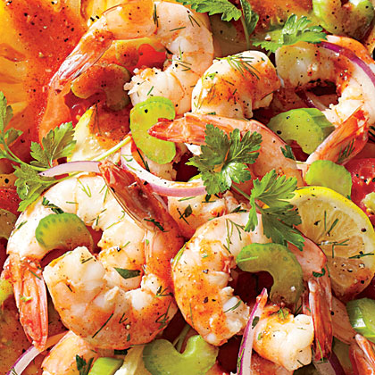 Quick Pickled Shrimp