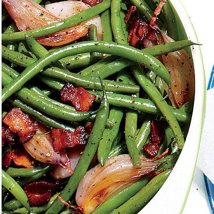 Skillet Green Beans Recipe Myrecipes