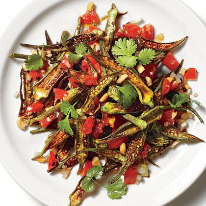 Spicy Okra Fries