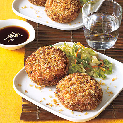 Asian-Style Fish Cakes Recipe