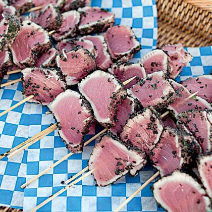 Black Sesame Seared Tuna