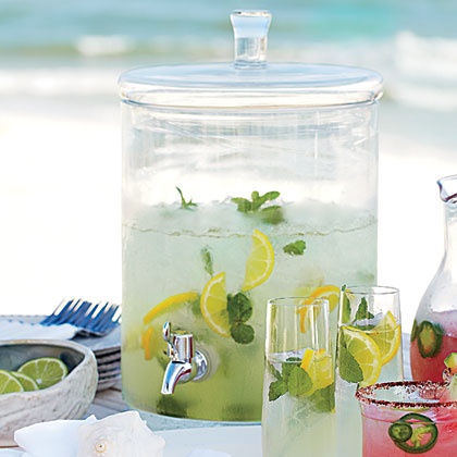 Limoncello Mojito is a citrusy new take on the classic cocktail. This refreshing concoction is perfect for the dog days of summer.Limoncello Mojito Recipe
