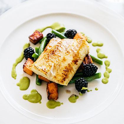 Pan-Roasted Orange Maple Sablefish Recipe