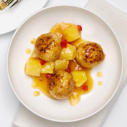 Slow-Cooker Turkey Meatballs