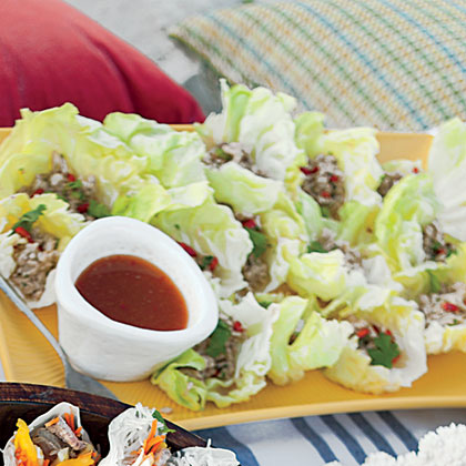 Spicy Lettuce-Wrapped Chicken Recipe