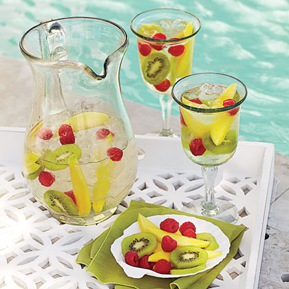 Summer Sangria RecipeCool down on a warm afternoon with a batch--or two--of Summer Sangria.