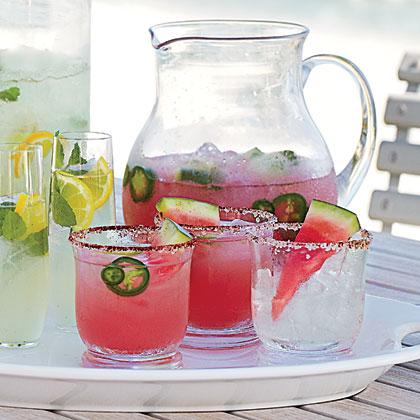 Watermelon-Jalapeno Margarita