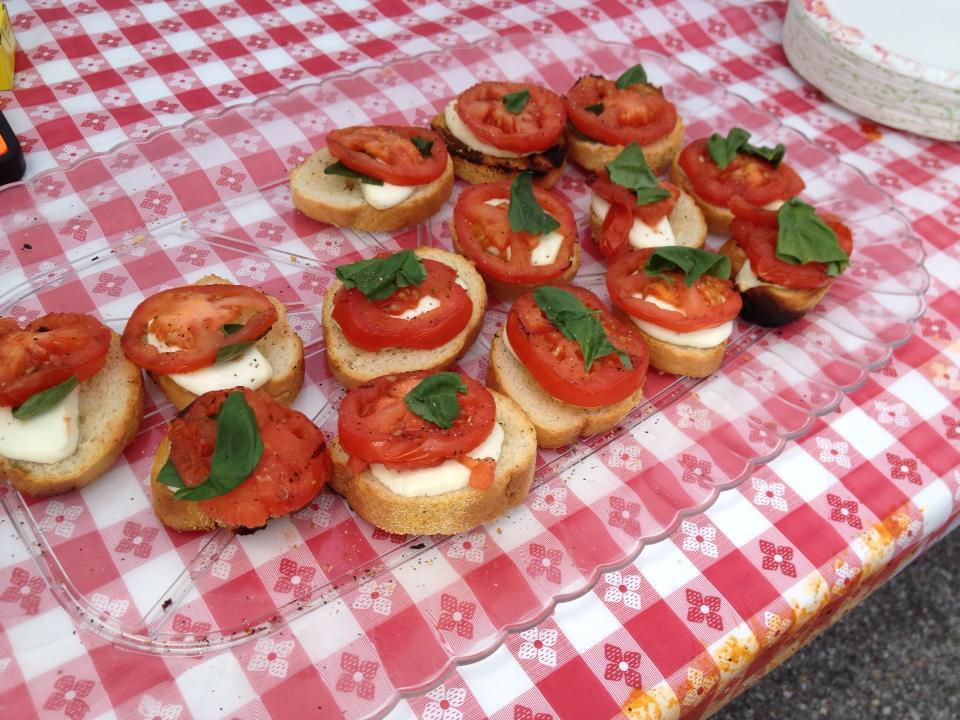Birmingham Eggfest: Easy Grilled Bruschetta