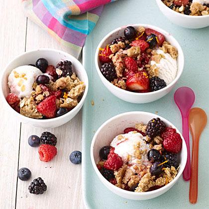 Mixed-Berry Crumble Recipe