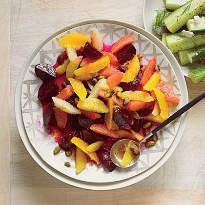 Beet-Citrus Salad with Pistachios