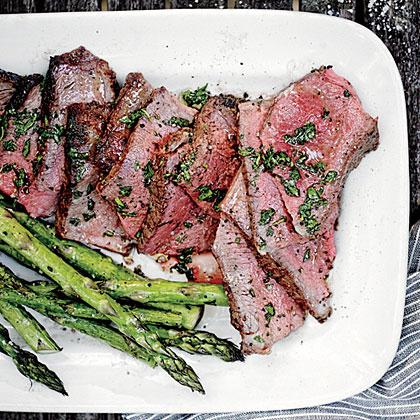 Clinched Double-Cut Loin Lamb ChopsRecipe