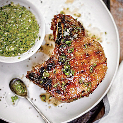 Double Thick-Cut Pork Chops