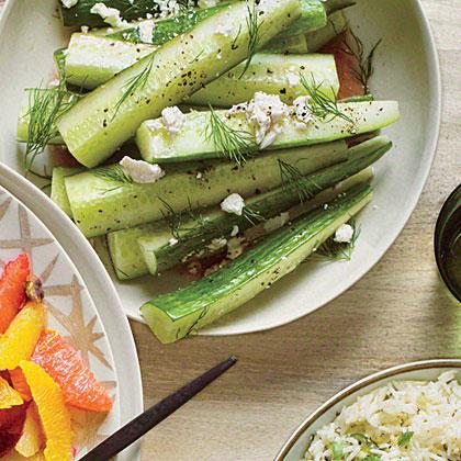 Greek Salad CucumbersRecipe