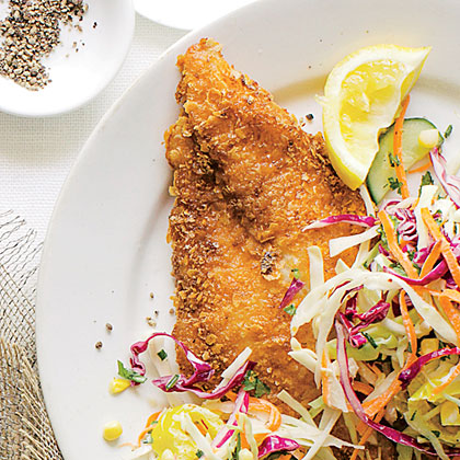 Crispy Lemon Catfish