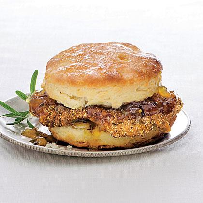 Peppery Pork Biscuits Recipe