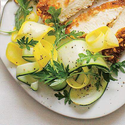 Squash Ribbon Salad