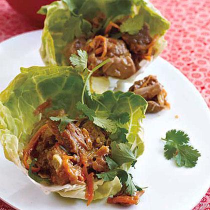 Hoisin Veggie-Tofu Lettuce Cups Recipes — Dishmaps