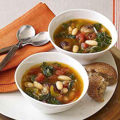 Sausage and Chard Soup