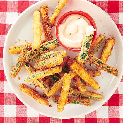 Zucchini Fries with Chipotle Mayonnaise