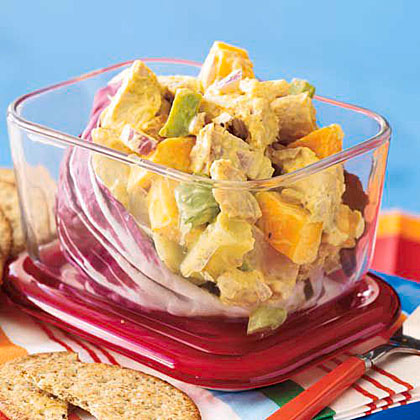 Chicken Salad with Mango and Apple Recipe