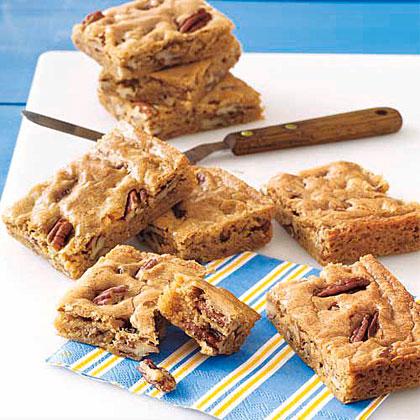 Toasted-Pecan Blondies Recipe
