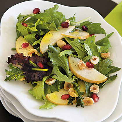 Asian Pear and Hazelnut Salad