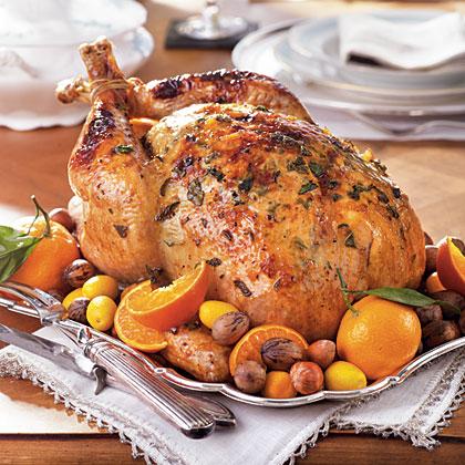 Herb and Citrus-Glazed TurkeyRecipe