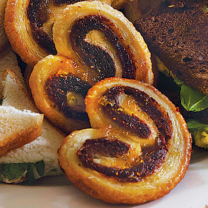 Fig and Bacon Palmiers