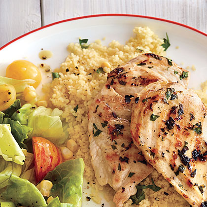 ck-Herbed Couscous