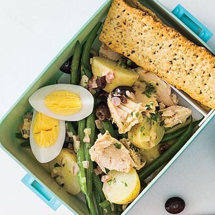 Herby Potato, Green Bean, and Tuna Salad