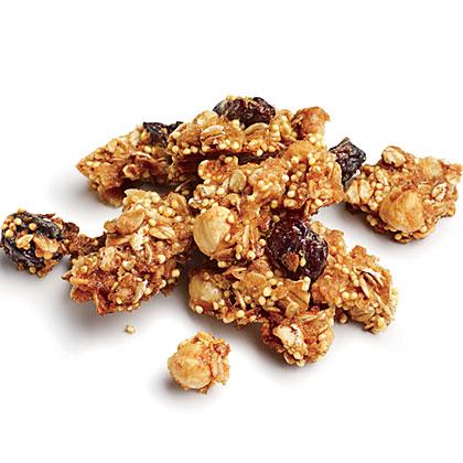 Nutty Whole-Grain Granola