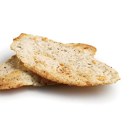 Parmesan-Rosemary Flatbread Crackers