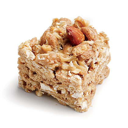 Peanut-Almond Snack Bars Recipe
