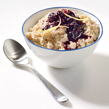 ck-Steel-Cut Oats with Cinnamon-Blueberry Compote