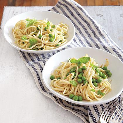 Summer Pea Pasta Recipe
