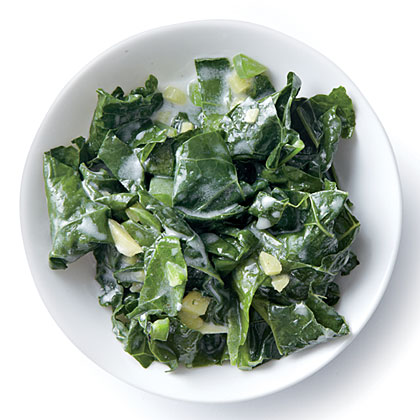 Wilted Kale with Coconut, Ginger, and Lime Recipe