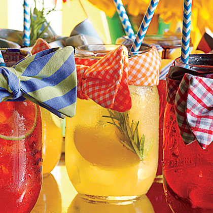 Apple, Lemon, and Gin Shandy