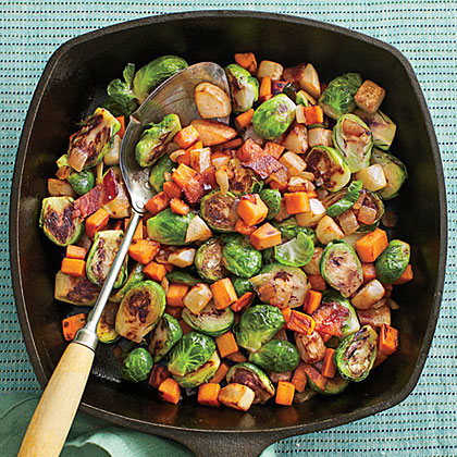 Fall Vegetable Hash
