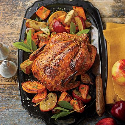 Grill-Roasted Chicken Recipe