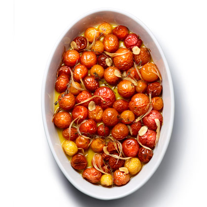 <p>Slow-Roasted Cherry Tomatoes</p>