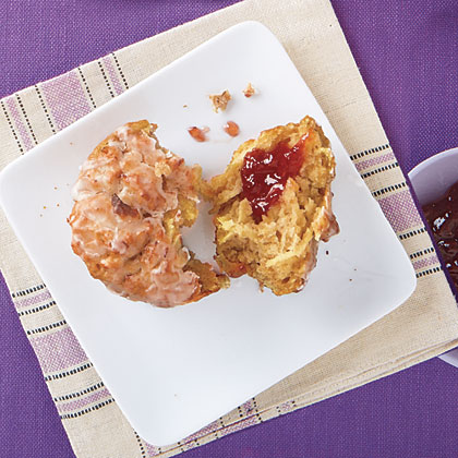 Apple-Oatmeal Muffins Recipe