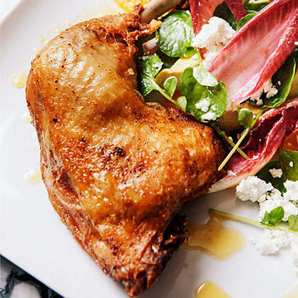 Crisp Chicken Confit