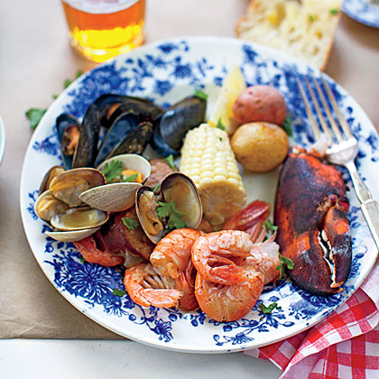 Stovetop Clambake Recipe | MyRecipes.com