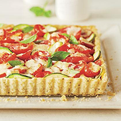 Tomato-Zucchini Tart Recipe