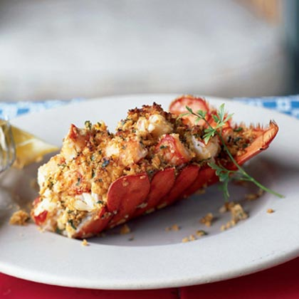 Stuffed Lobster Recipe Myrecipes