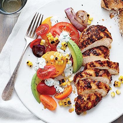 Top-Rated Recipes: Grilled Chicken and Tomatoes