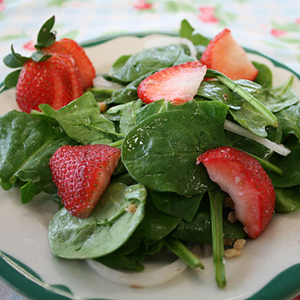 Sunflower Strawberry Salad