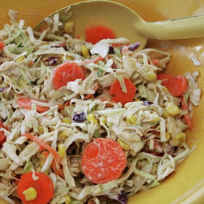 Sunshine Coleslaw Recipe