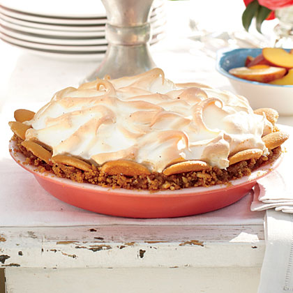 Banana Butterscotch Bourbon Pie